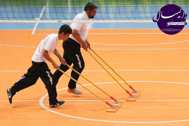 رئیس هیات والیبال کرمانشاه: فدراسیون کمک مالی به ما نمیکند !
