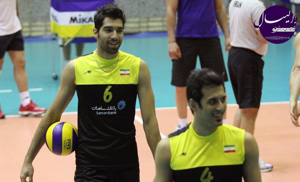 رقابت های قهرمان قاره های والیبال جهان/محمد موسوی: نشان میدهیم که ایرانی می تواند !