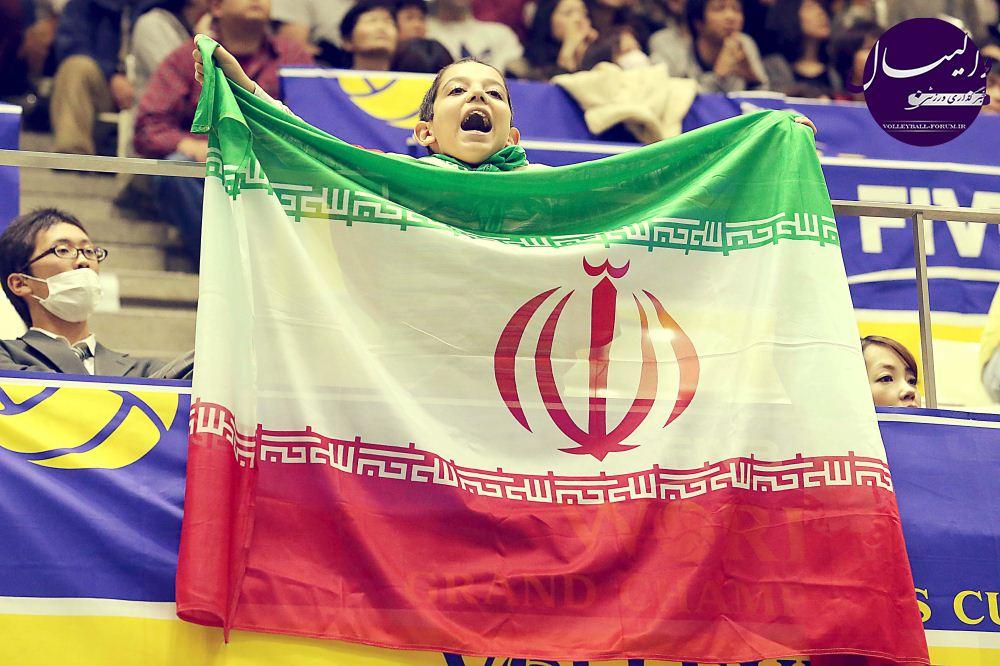 گزارش تصویری از دیدار تیم ملی والیبال ایران و برزیل !