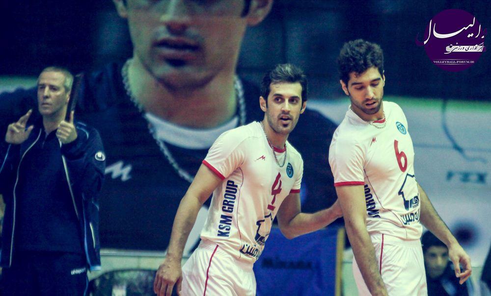 نتیجه زنده دیدار کاله مازندران و متین ورامین !