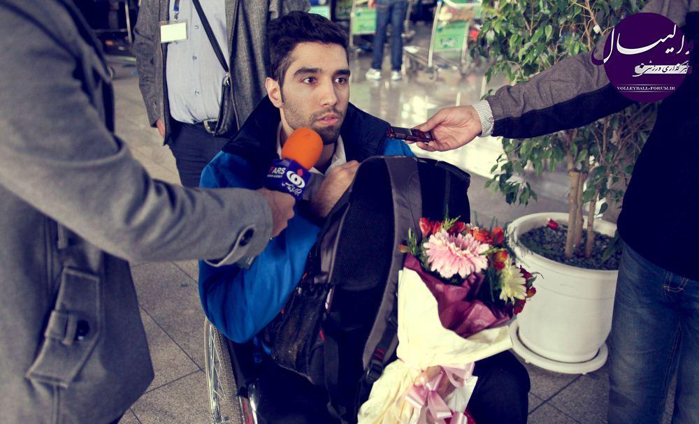 دوری ۲ هفتهای محمد موسوی از میادین به علت مصدومیت !