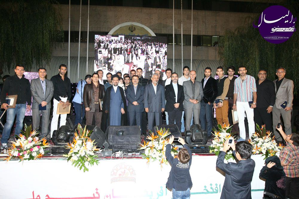 تجلیلی از مردان والیبال ایران !