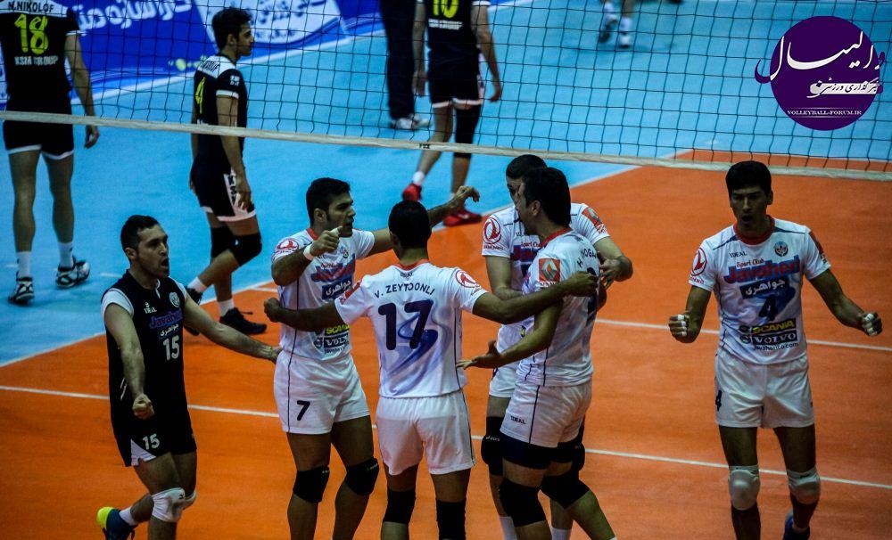 برتری نماینده پایتخت والیبال ایران برابر شهرداری ارومیه !!