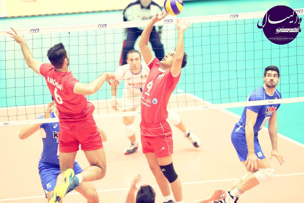 نتیجه ی زنده دیدار تیم ملی والیبال ایران و ژاپن/سعید معروف برترین بازیکن میدان !