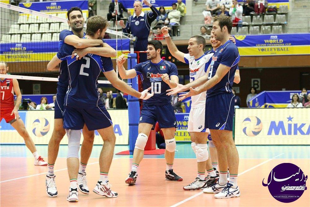 نتایج والیبال قهرمانی 2014 باشگاههای اروپا  / شاگردان برناردی سوم شدند !