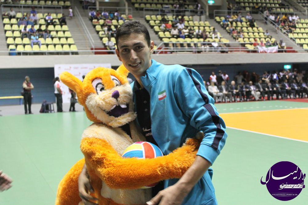 مصاحبه اختصاصی با رسول آقچلی کاپیتان تیم ملی والیبال نوجوانان پس از قهرمانی در آسیا !