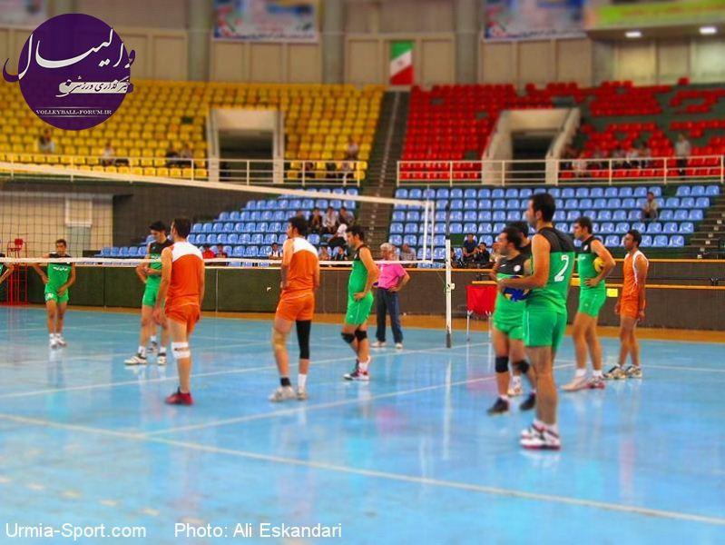 حواشی و گزارش تصویری اولین جلسه تمرین تیم والیبال شهرداری اورمیه !
