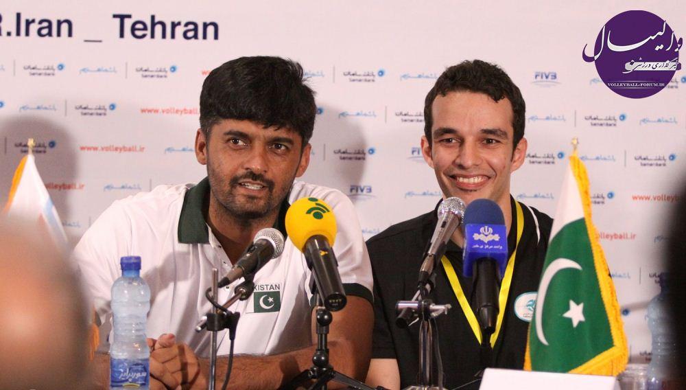 سرمربی تیم والیبال پاکستان : زورمان به ایران نمی رسید !