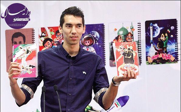 سخنرانی فرهاد قائمی در مراسم رونمایی از دفاتر تحریر ایام !