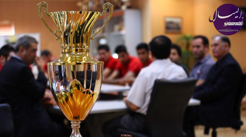 کاپ ریاست جمهوری قزاقستان در ویترین افتخارات والیبال ایران !