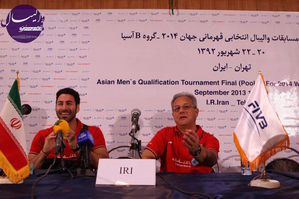 ولاسکو : کار مقابل اندونزی آسان بود/مهدوی : فردا بهترین بازی را از ایران می بینید !