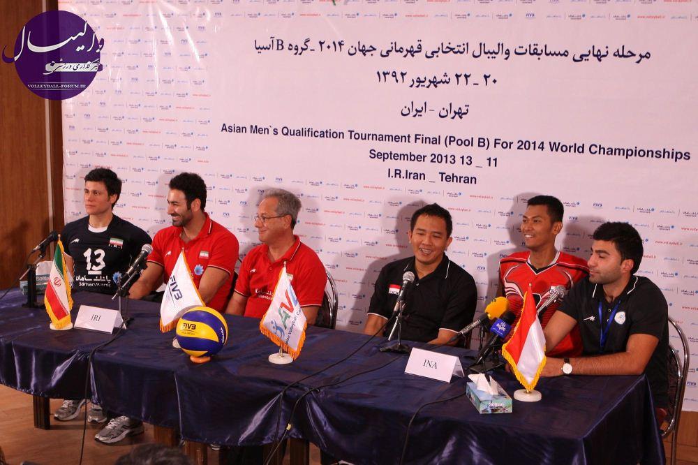 سرمربی اندونزی : بازی با ایران تجربه عالی بود/کاپیتان اندونزی : از ایرانی ها مچکرم !