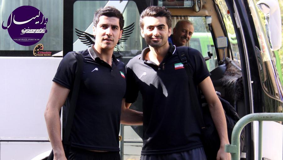 عکس های بازی تیم ملی والیبال ایران و بحرین !