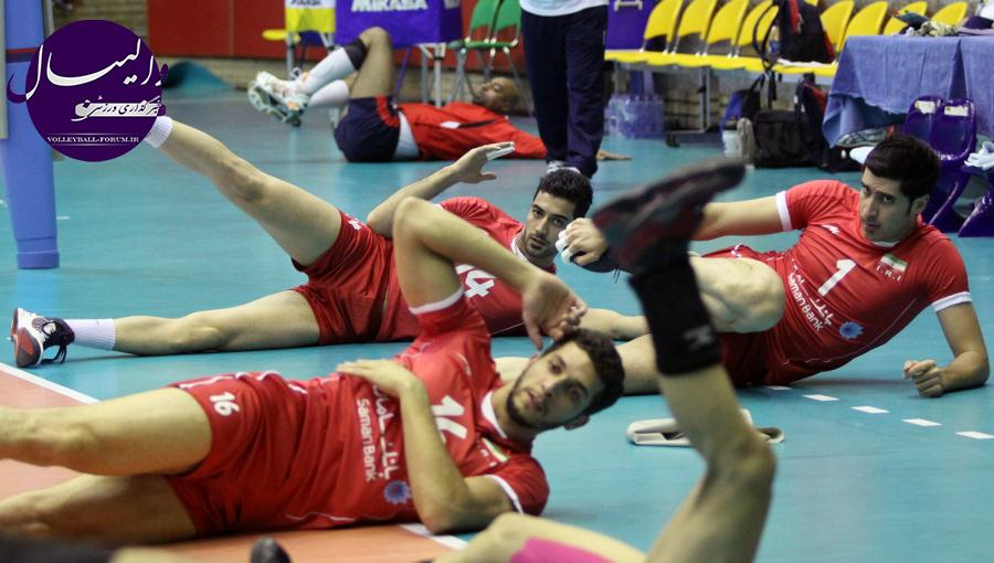 سرپرست تیم ملی والیبال : تیم ملی والیبال شرایط آرمانی دارد !