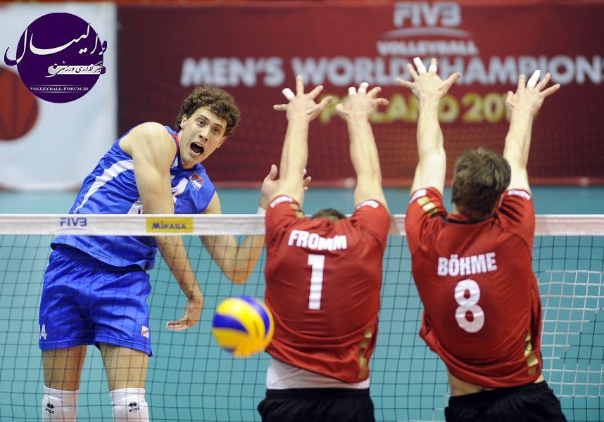 شروع رقابت های والیبال جام ملت های 2013 اروپا از فردا !