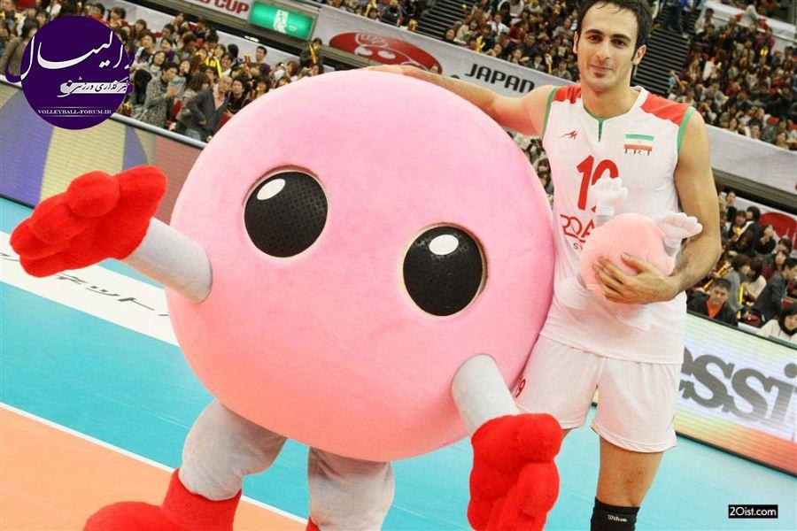 ستاره مصدوم تیم ملی از والیبال خداحافظی کرد