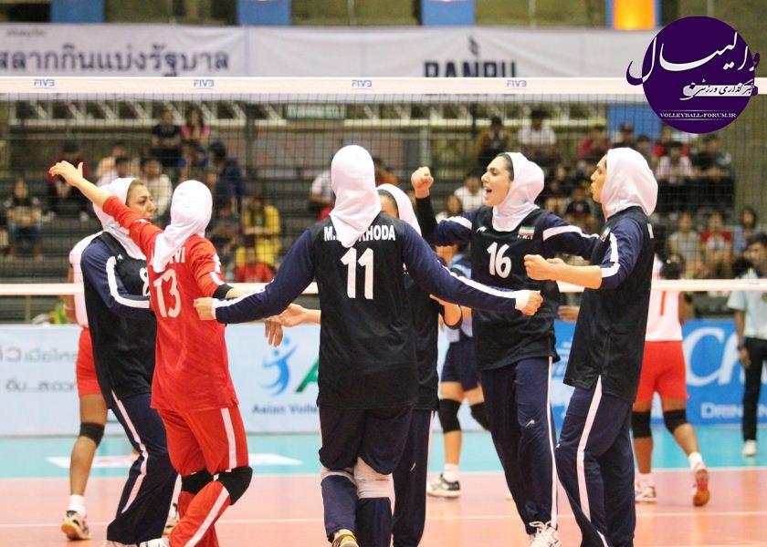 نتایج بازی های مرحله دوم والیبال قهرمانی 2013 بانوان آسیا !