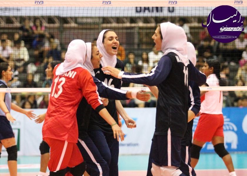 تیم ملی والیبال زنان به مقام هشتمی آسیا دست یافت