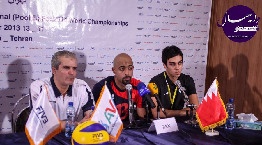 سرمربی بحرین : ایران کم اشتباه و باتجربه بود/جاسم نبهم : جوان هستیم و آینده دار !