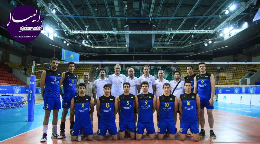 تیم ملی والیبال امید حریفان جهانی خود را شناختند !