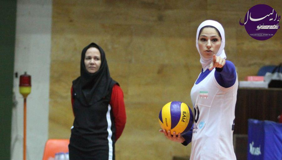 نخستین پیروزی زنان والیبال ایران در جام هفدهم رقابت های قهرمانی آسیا !