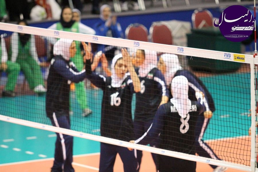 نتایج مرحله نهایی مسابقات والیبال رده سنی امید دختران !
