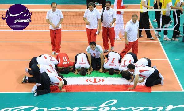 مسابقات قهرمانی والیبال نشسته کشور مهرماه آغاز می شود !