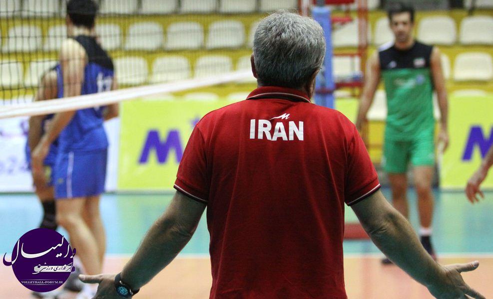گزارش تصویری از آخرین تمرین تیم ملی والیبال در تهران پیش از اعزام به امارت !