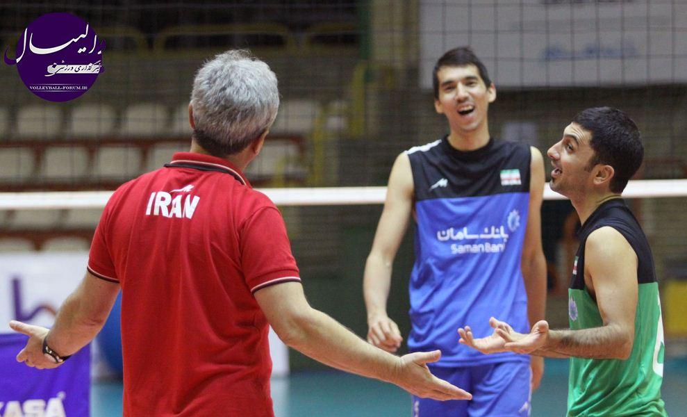 آخرین تمرین تیم ملی والیبال پیش از اعزام به امارات برگزار شد