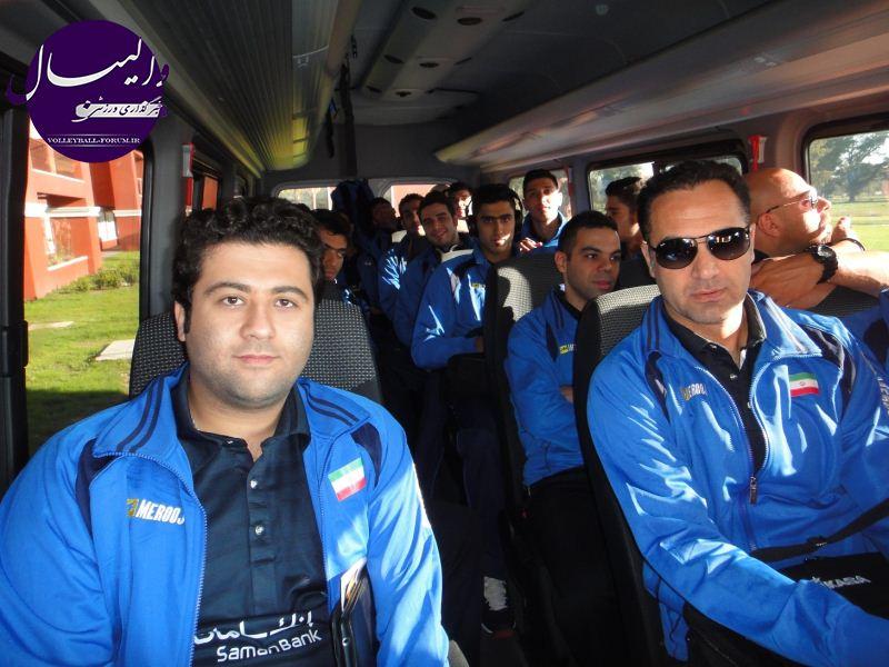 گزارش تصویری از تمرین تیم ملی والیبال زیر 23 سال ایران در آرژانتین !