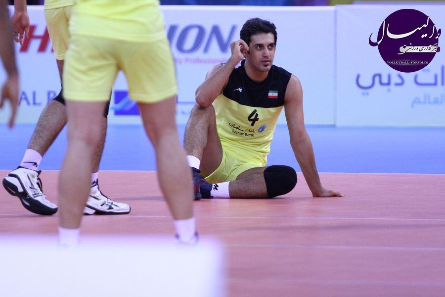 نتیجه زنده ی دیدار تیم ملی والیبال ایران و تیم ملی والیبال قزاقستان !