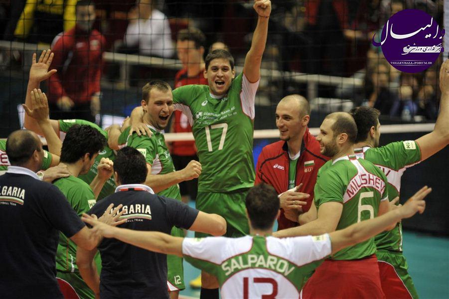 والیبال قهرمانی 2013 اروپا/صربستان،روسیه ،ایتالیا و بلغارستان به نیمه نهایی رسیدن !