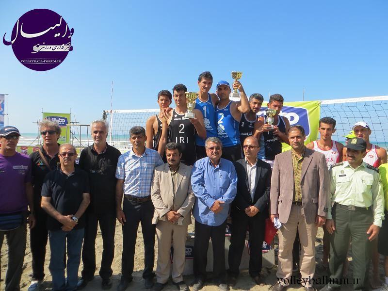 پس از مقام پنجمی ساحلی بازان/افشاردوست: والیبال ساحلی ما همپای والیبال سالنی نیست !
