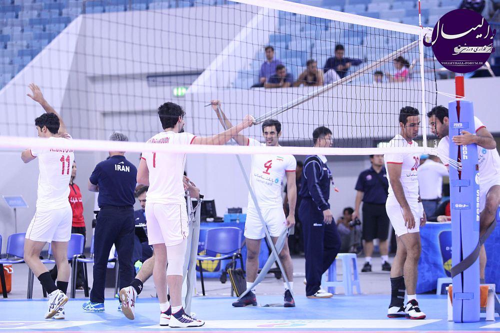 عباس برقی: والیبالیستها مقابل کرهجنوبی محک میخورند !