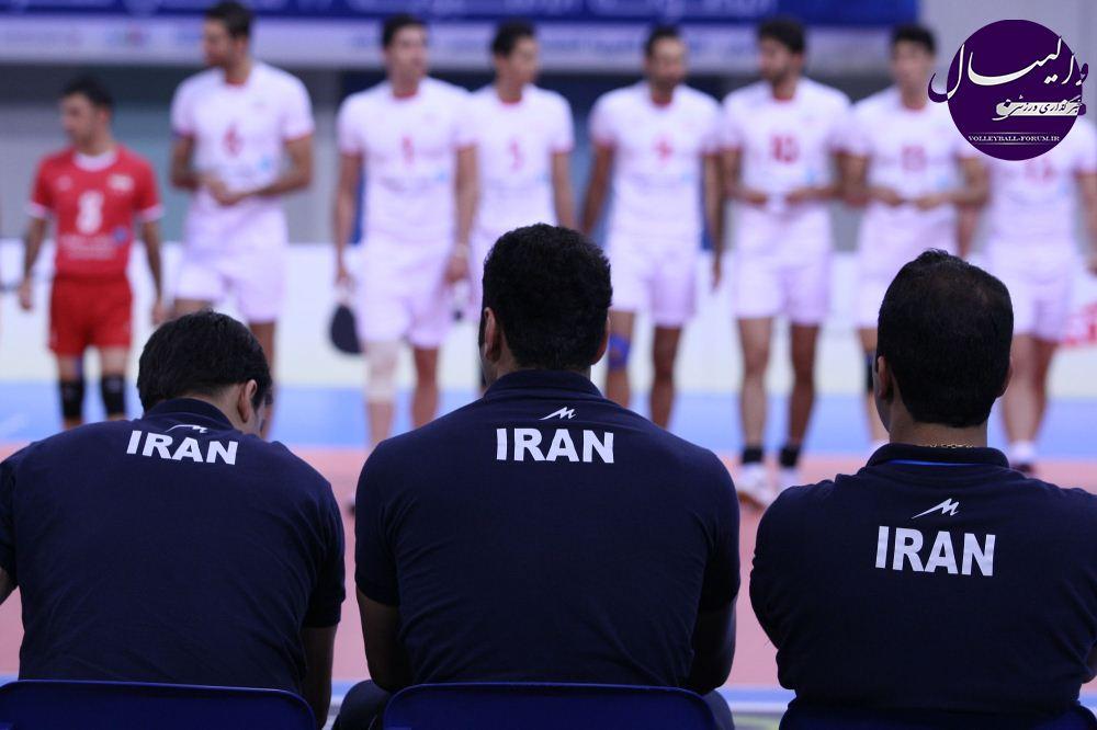 لبنان با دو حضور در آسیا حریف والیبال ایران در یک چهارم نهایی !