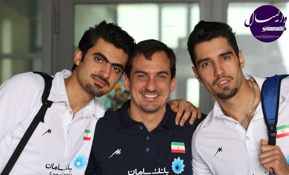 عکس محمد موسوی و امیر غفور و خوان سیچلو