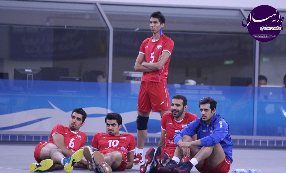 ملی پوشان پس از مسابقه با کویت وزنه زدند
