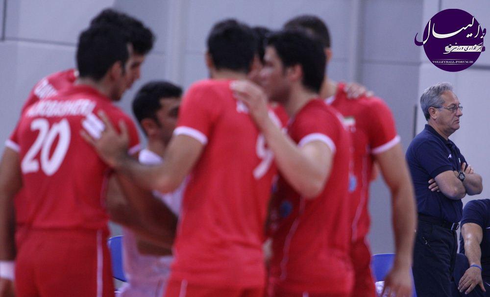گزارش تصویری از دیدار تیم ملی والیبال ایران و کویت !