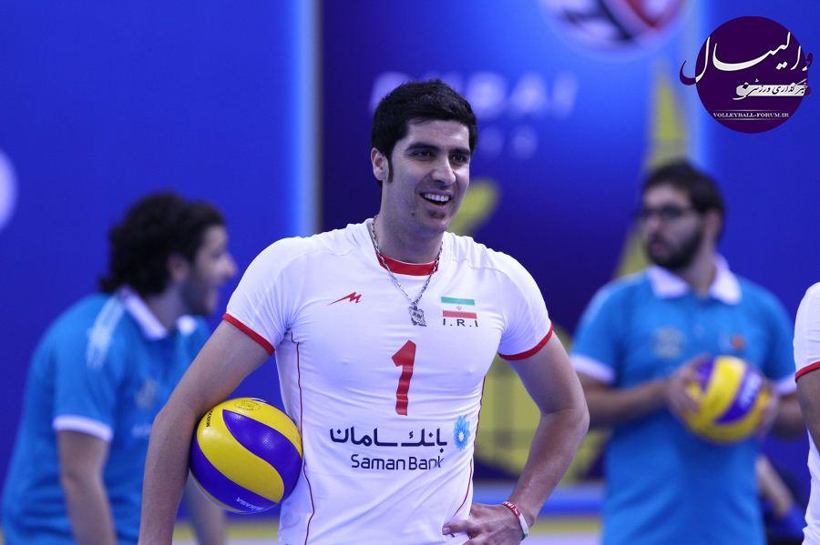 گزارش تصویری از دیدار تیم ملی والیبال ایران و قزاقستان(شماره 1)