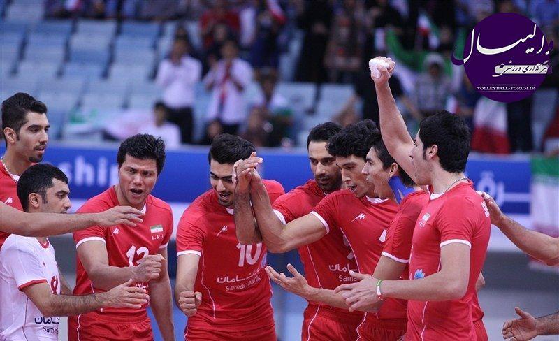 لبنان هم قربانی شد/صعود آسان ایران به نیمه نهایی قهرمانی آسیا !