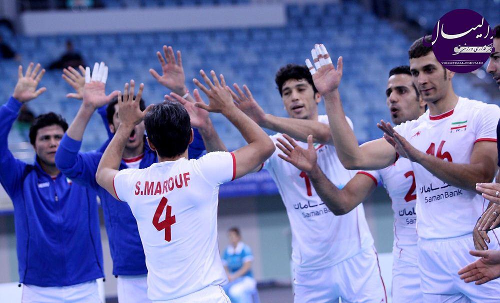برنامه مرحله یک چهارم نهایی مسابقات جام ملت های 2013 والیبال آسیا !