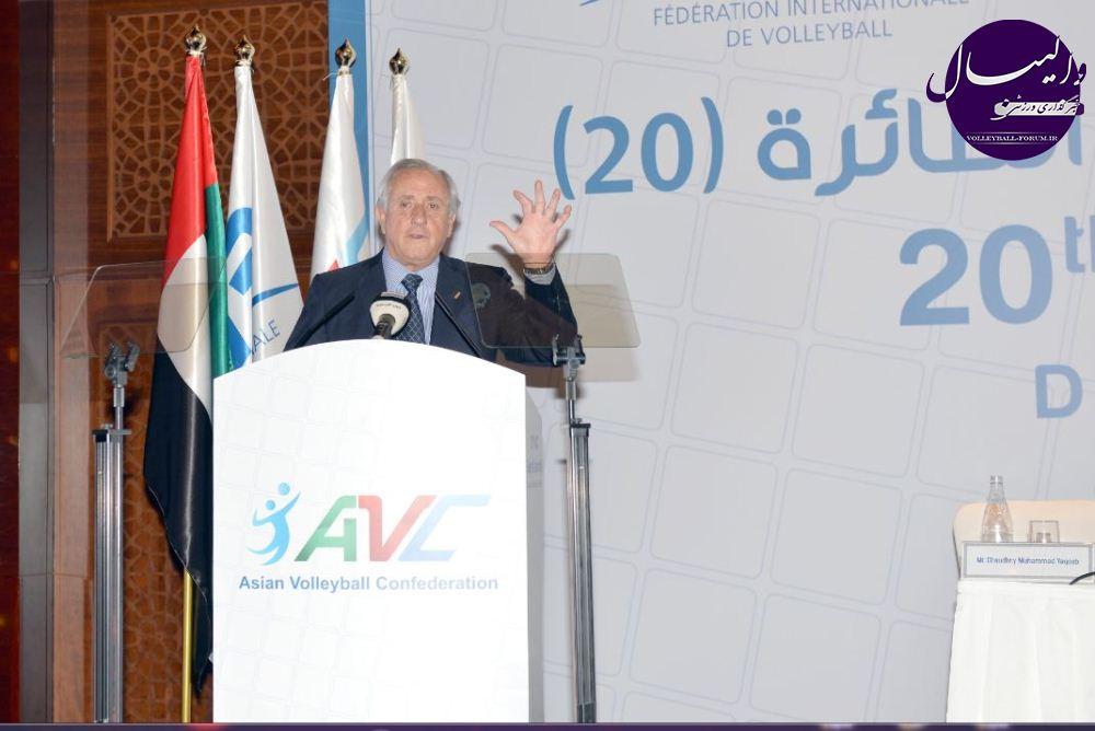 تاکید رئیس Fivb به نوآوری در والیبال !