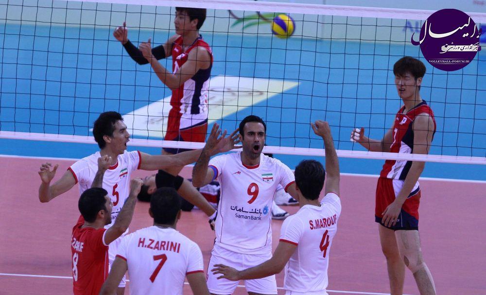 کره جنوبی حریف ایران در فینال شد/ دیدار تکراری برای قهرمانی !