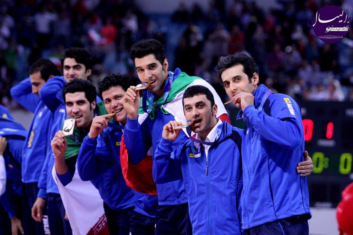 گزارش FIVB از ایستادن ایران بر بام والیبال آسیا !