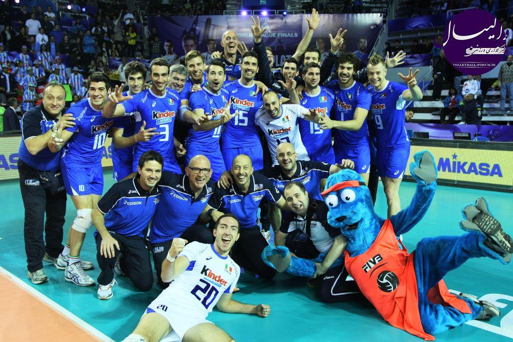والیبال جام بزرگ قهرمانان 2013 جهان /سهمیههای آزاد به ایتالیا و دومینیکن رسید !