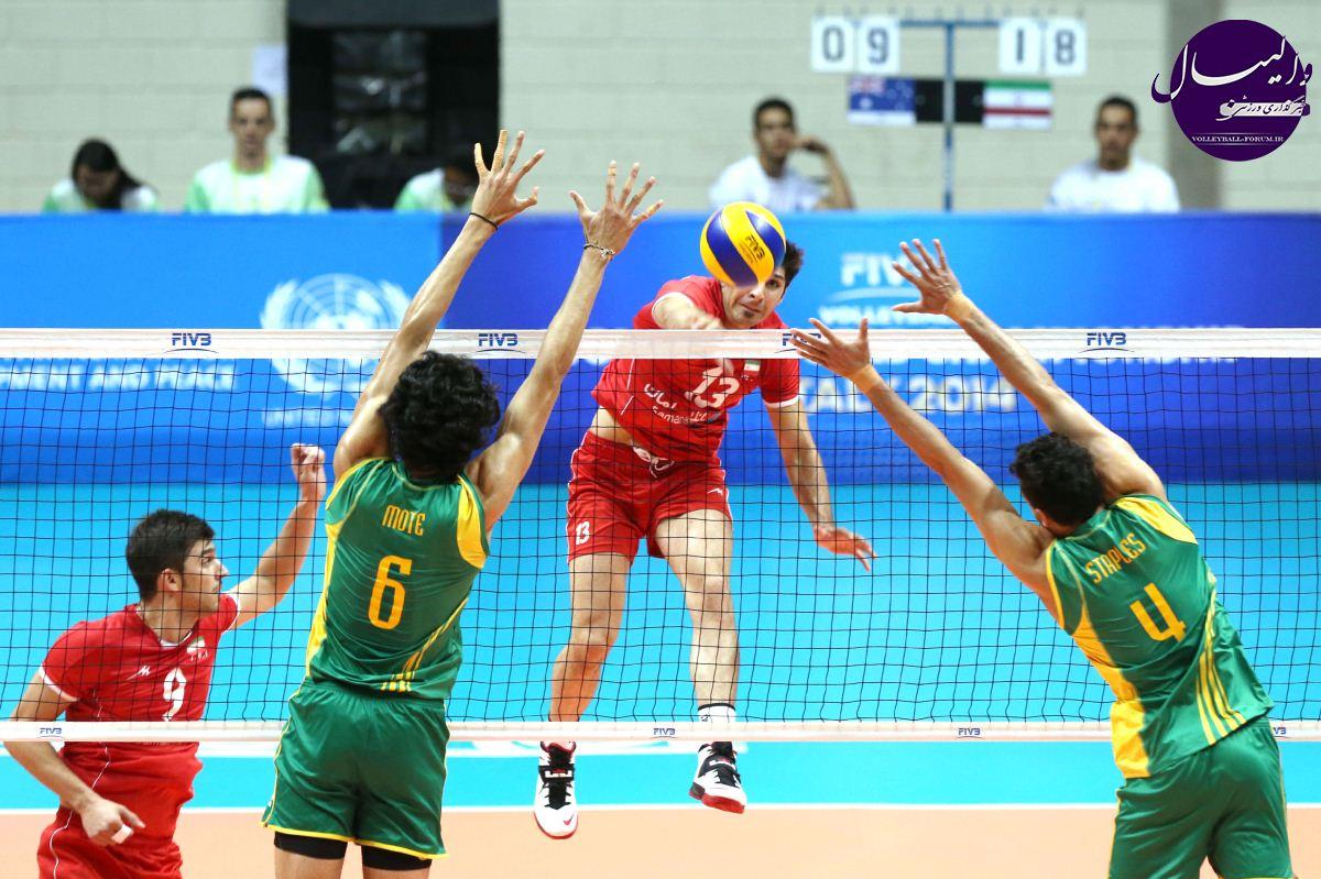 رقابت های والیبال زیر 23 سال جهان/امید های ایران اولین گام رو محکم برداشتن !