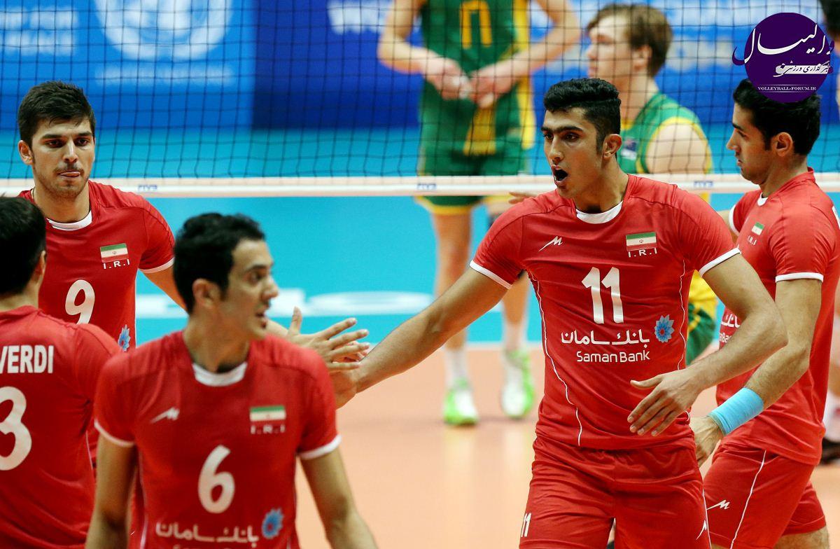 گزارش تصویری از دیدار تیم های ملی زیر 23 سال ایران و استرالیا !