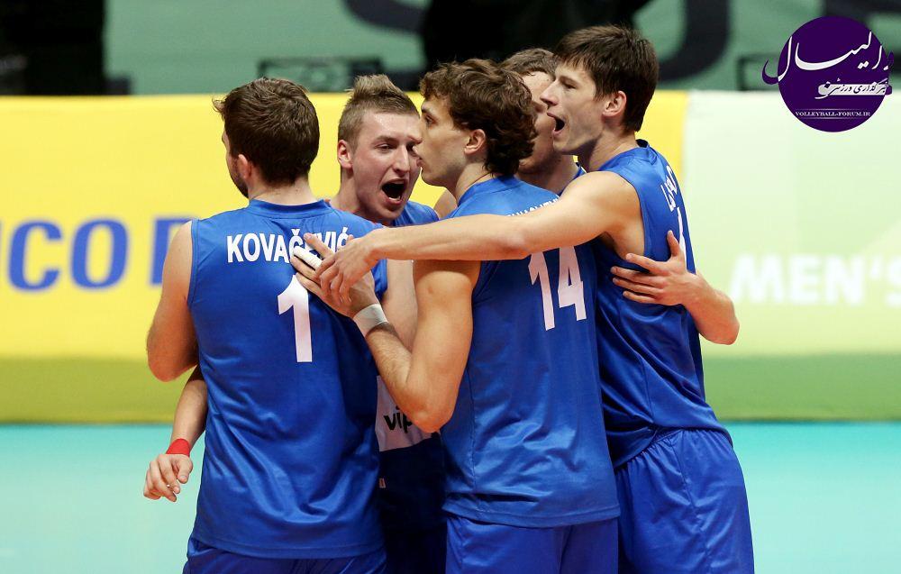 رقابت های والیبال زیر 23 سال جهان/صربستان و برزیل به فینال رسیدند !