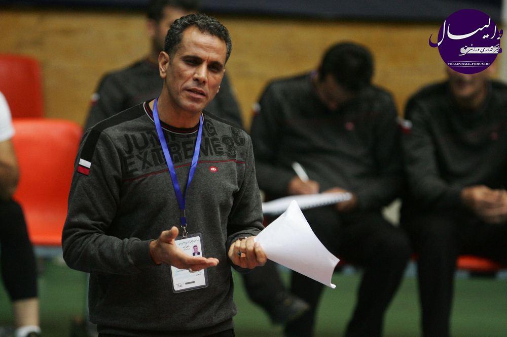 مسعود آرمات : برگزاری دور نهایی لیگ برتر والیبال کیفت بازی ها را بهتر می کند !