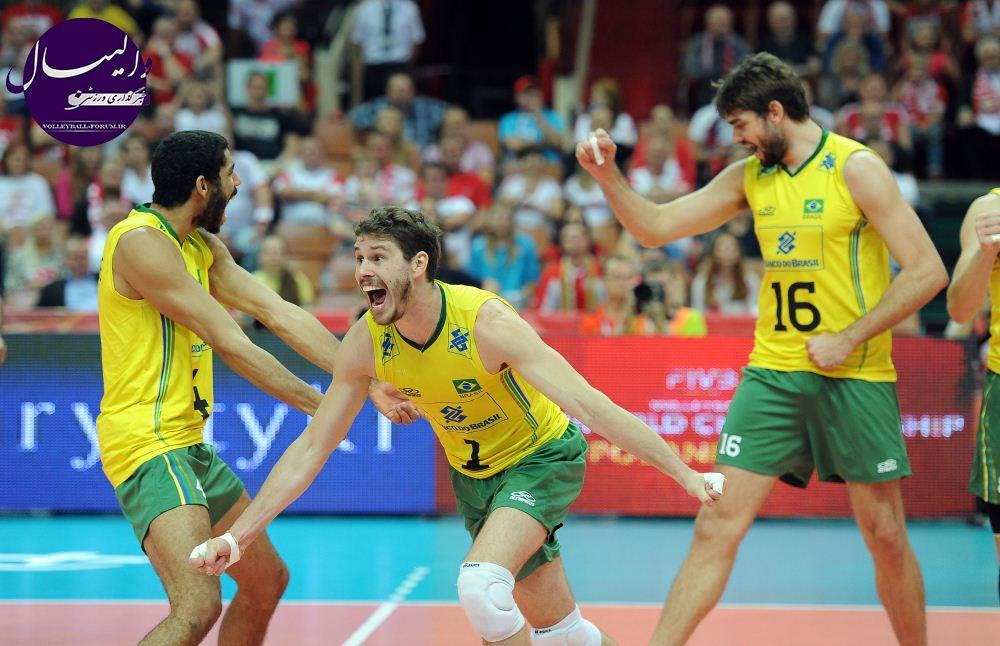 برزیل اولین فینالیست جام هجدهم !